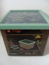 NEW LEGO The Ninjago Movie Storage Box Large Tub + Lid Organizer Toy Box 4094 L