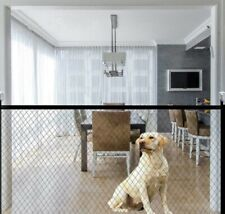 Portable Folding Mesh Fence For Dog Safety Gates Baby Safe pa