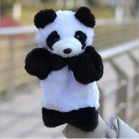 Finger Animal Panda Sleeve Dolls Hand Puppet Educational Baby Kids Plush Toys
