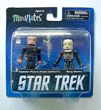 Star Trek Legacy Minimates Series 1 Captain Picard Borg Queen 2-pack Figures