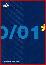 ANNUAL REPORT - KLM ROYAL DUTCH AIRLINES 2000-2001 - DUTCH