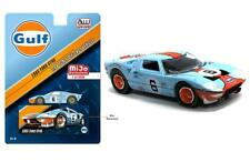 Auto World 1:64 MiJo Exclusives 1965 Ford GT40 Gulf # 6 Diecast Car CP7483