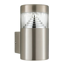Searchlight LED Stainless Steel Square Outdoor Garden Garage Wall Bracket Light