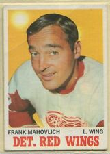 1970-71, Topps, Hockey, #'s 4-130, & Sticker Stamps , UPick from list