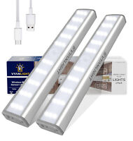 30 LED Closet Light Motion Activated, Cordless Under Cabinet Motion Sensor Light