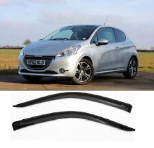Fit For Peugeot 208 2012-2015 Hatchback 3 door Side Door Window Deflectors