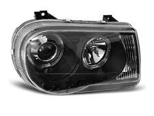 Paire de feux phares Chrysler 300C 05-10 angel eyes noir