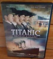 *(F13120)* DVD LOT OF 6 DOCUMENTARIES / TITANIC / POMPEII / WALL / PLAGUE / ETC