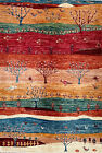 Hand-knotted Rug (Carpet) 3'3X4'9, Khorjin mint condition