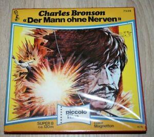 "Super 8 Film""Charles Bronson""Der Mann ohne Nerven"" in Cover....."