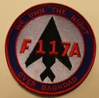 Внешний вид - F-117 Stealth Fighter We Own The Night Over Baghdad Desert Storm Air Force Patch