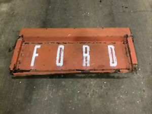 1961-1967 FORD ECONOLINE PICKUP TRUCK TAILGATE - RED