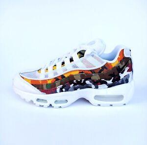Nike Sportswear Air Max 95 ERDL Party Sneaker Weiß Bunt Camo Gr 36 AR4473-100