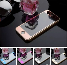 For iPhone Front & Back 360 Tempered Glass Screen Protector Anti Scratch Mirror