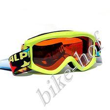 Alpina Carvy 2.0 Small - Children's Ski Goggles Singleflex Lime Matte