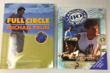 2 x Michael Palin Books Full Circle & Around World in 80 Days