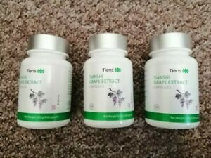 3 packs x Tiens Tianshi Tianshi Grape Extract Capsules, 60 capsules (180 caps)