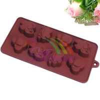Frog Butterfly Bee Silicone Cake Candle Chocolate Soap Candy Jelly Ice Mould