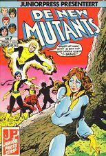 NEW MUTANTS JUNIOR PRESS 07 - EERSTE SCHOOLDAG (1986)