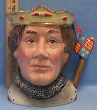 Vintage 1982 Royal Doulton Henry V Toby Mug From Shakespearean Collection D 6671