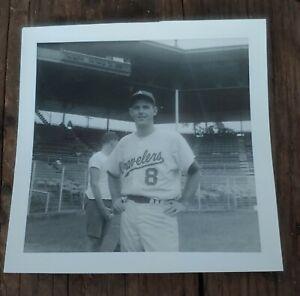 Original B&W Minor League Baseball Photo 1965 Arkansas Travelers Gene Harbeson