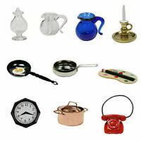 1:12 Puppenhaus Puppenstub Miniatur Möbel Zubehör Set Küchen-Kochwerkzeug K T7V5