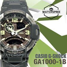 Casio G-Shock Twin Sensor Compass Aviator Watch GA1000-1B