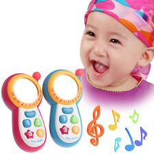 Kids Baby Musical Phone Toy Toddler Children Sound Learning Educational Toy Gift
