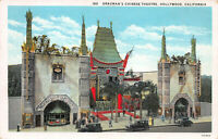 Grauman's Chinese Theater, Hollywood, California, Early Postcard, Unused