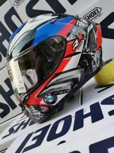 SHOEI BM W PISTA GPRR S1000RR Tricolors ROSSI Motorcycle Helmet Moto GP New