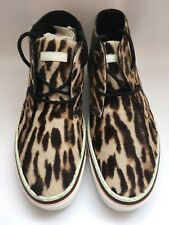 GUCCI Pony Hair Sneakers......Retail: £575.....Leopard Print, Trainers, High Top