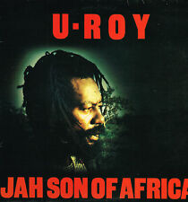 "LP 12"" 30cms: U-Roy: jah son of africa. virgin"