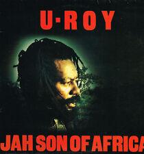 "LP 12"" 30cms: U-Roy: jah son of africa. virgin"
