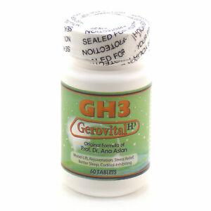 GH3 Gerovita H³ Org. Formula of Prof. Dr. Ana Aslan~ 60 Tablets ~ Exp. DEC 2024