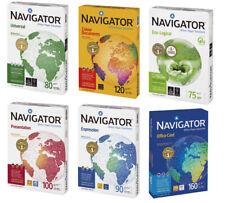 Navigator Premium Druckerpapier DIN A4 A3 75 80 90 100 120 160g/m² Kopierpapier
