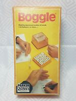 Boggle Collectable Vintage Word Board Game by Parker 1978 good condition