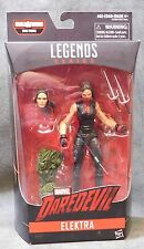 Marvel Knights Legends Elektra with BAF Piece - Man-Thing - Wave 1 - Netflix