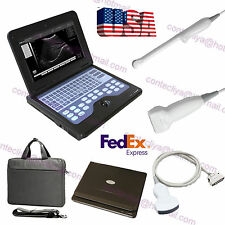 Portable ultrasound scanner laptop machine 3 Probes Convex/Linear/Transvaginal