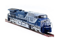 Miniature Electric Locomotive AC44i RUMO Phase II 8320 HO Frateschi Collectible