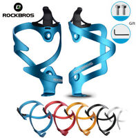 RockBros 3D Bike Water Bottle Cage Bicycle Bottle Holder Alloy One Double - Side