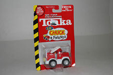TONKA DIECAST LIL' CHUCK & FRIENDS, CHUCK THE FIRE TRUCK, 1:64, NEW IN BOX