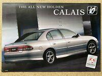 1997 Holden Calais id original Australian sales brochure
