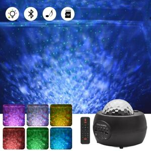 LED Galaxy Projector Light Starry Sky Star Bluetooth Music Night Light w/ Remote