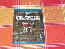 PIRATI DEI CARAIBI  4 FILM BLURAY DISNEY NO DVD HARRY POTTER PRIMA LUNA FORZIERE