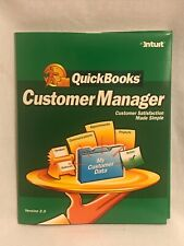 QUICKBOOKS -Customer Manager Version 2.0 Software  PREOWNED