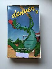 Cassette VHS K7 DENVER LE DERNIER DINOSAURE : TOME 3 - Etat correct !