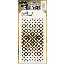 Tim Holtz Layering Stencil Gradient Dot Stencil THS118 Stampers Anonymous