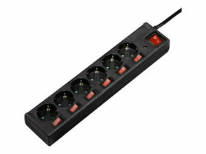 Hama 6-Way Power Strip with Switch and Child Protection Power strip 230 V 121946