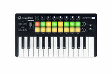 Novation MK2 25-Key Portable MIDI Keyboard Controller - Black