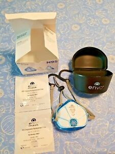 Envo Mask Respirator With Replacement Filters And Case Halo Style
